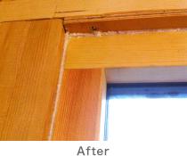 窓枠After